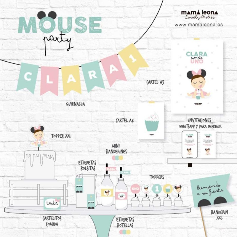 MOUSE PARTY - Impreso