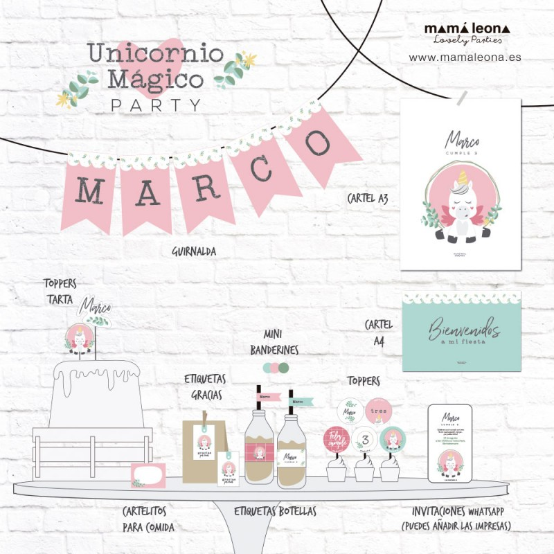 UNICORNIO MÁGICO PARTY