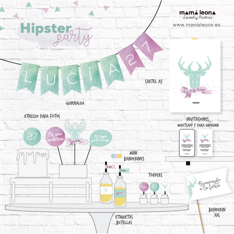 HIPSTER PARTY - Impreso